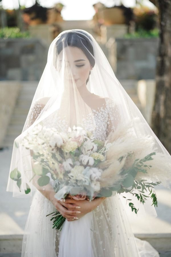 "118"" Soft Drop Cathedral Veil Wedding Bridal Accessories"