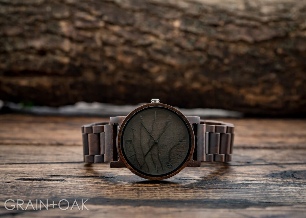 Wooden Watch Engraved For Men, Set Of 7, Groomsmen Gifts, Wood Watch, Personalized Gift Groom