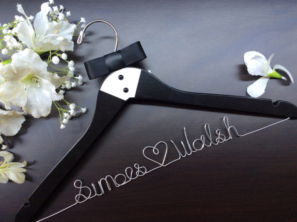 Groom's Hanger, Custom Wedding Hanger, Personalized Hanger Father Of Bride