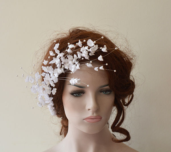 Wedding Flower Hair Combs, Accessories, Bridal Pieces Hair Pin Clips Fascinator, Flower, Bridesmaid