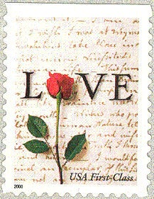 6x Love Letter 2001 34C Vintage Wedding Postage Stamp Save The Date Free Shipping Your #1 Source With The Best Prices On Stamps