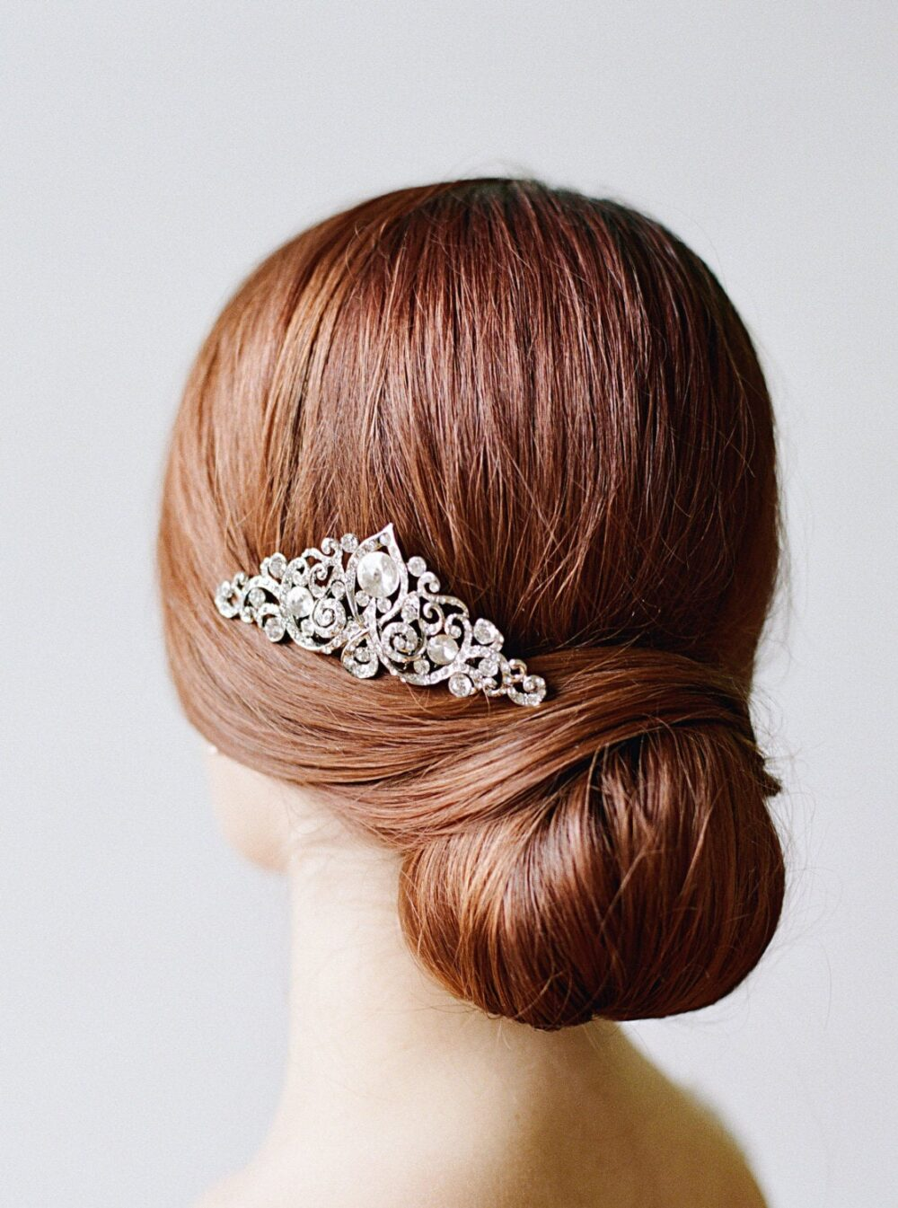 Wedding Hair Comb, Yvonna Bridal Comb, Swarovski Accessories, Wedding Accessories, Crystal Comb, Vintage Comb, Bridal Jewelry