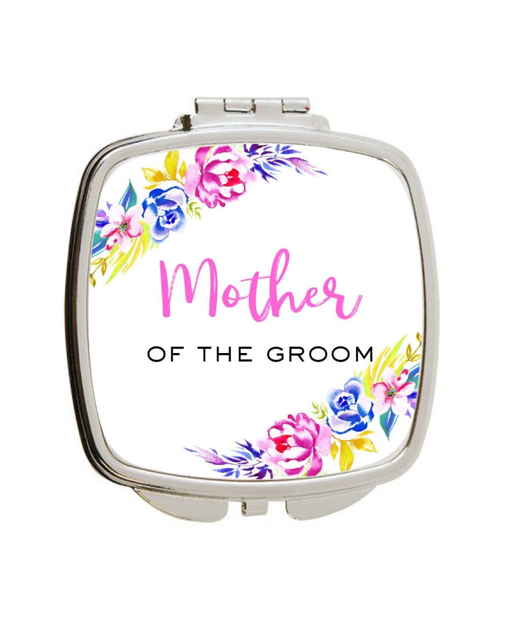 Wedding Party Gift For Mother Of The Groom Compact Mirror Personalized Bridal Gift Custom Personalized Name in Any Color