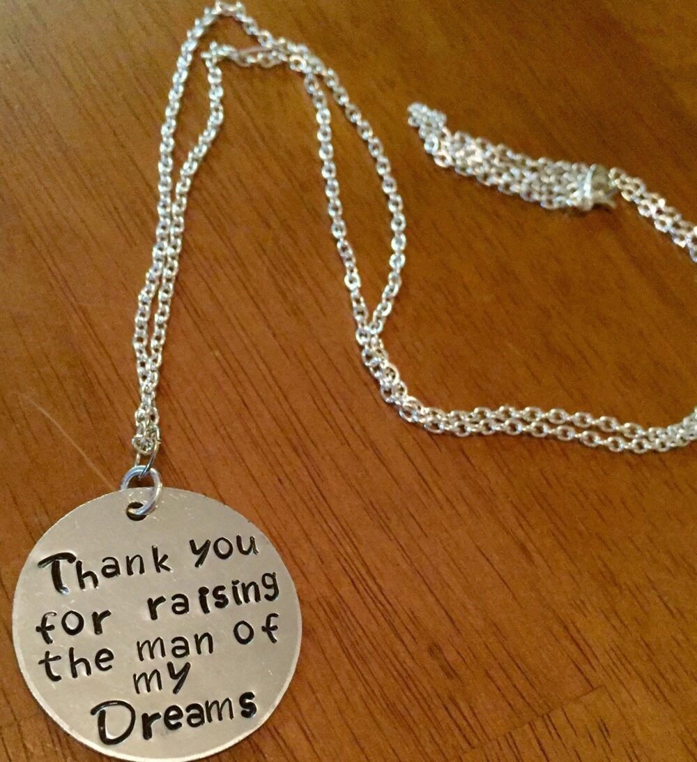 Mother Of The Groom Wedding Gift - Chain Necklace