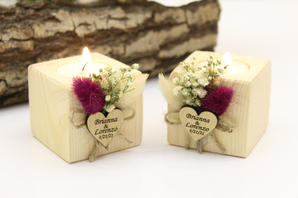 Personalized Wedding Favor Candles, Bridal Shower Favors, Favors For Guests in Bulk, Fall Rustic