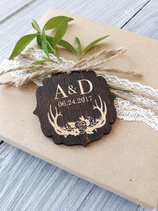 Rustic Favor Tags, Boho Wedding Favor, Tags, Personalized Tag, Favor Wood Rustic, Tags Favors