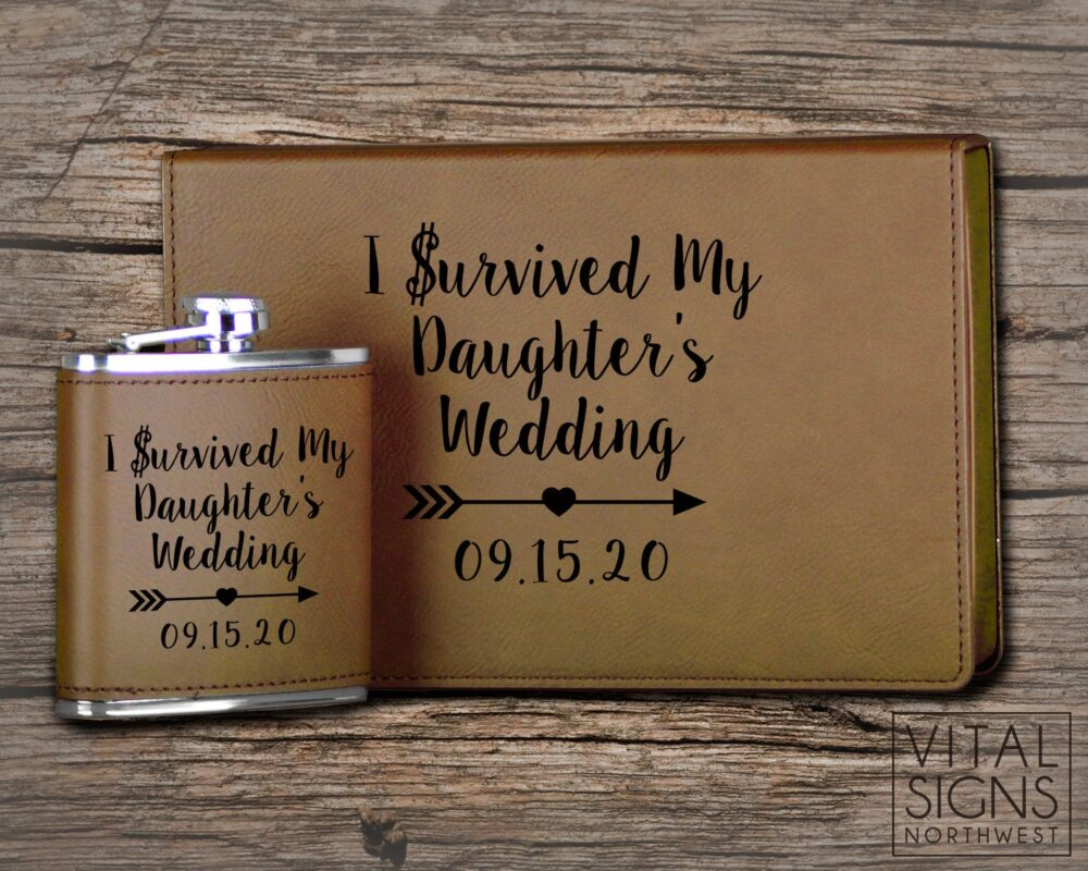 I Survived My Daughters Wedding, Father Of The Bride Gift, Groom Bride, Survived, Mother