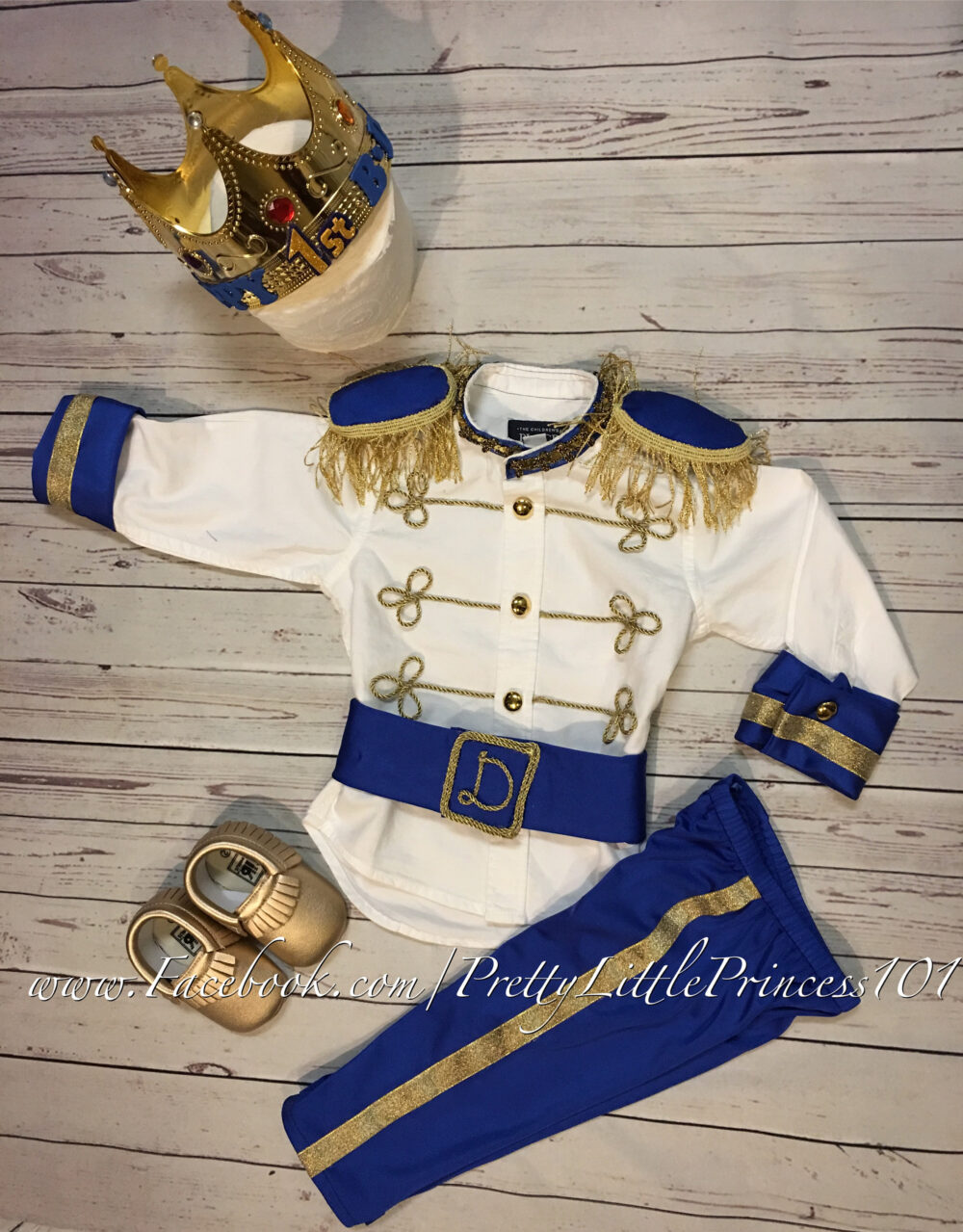 Infant Prince Costume, Ring Bearer Suit, Personalized Charming Outfit, Infant/Kids Royal Suit, Baby Toddler King Choose Size