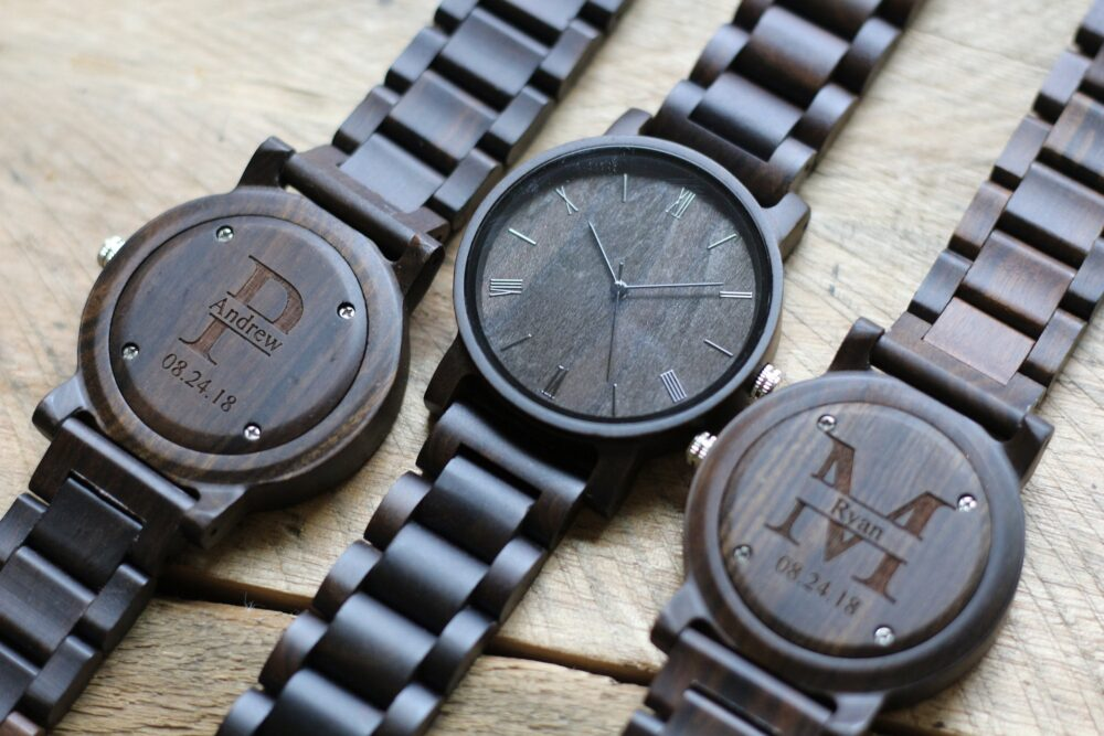 Groomsmen Watches, Set Of 9, Wood Watch, Wooden Mens Gift, Wrist Gift For Groom, Watches