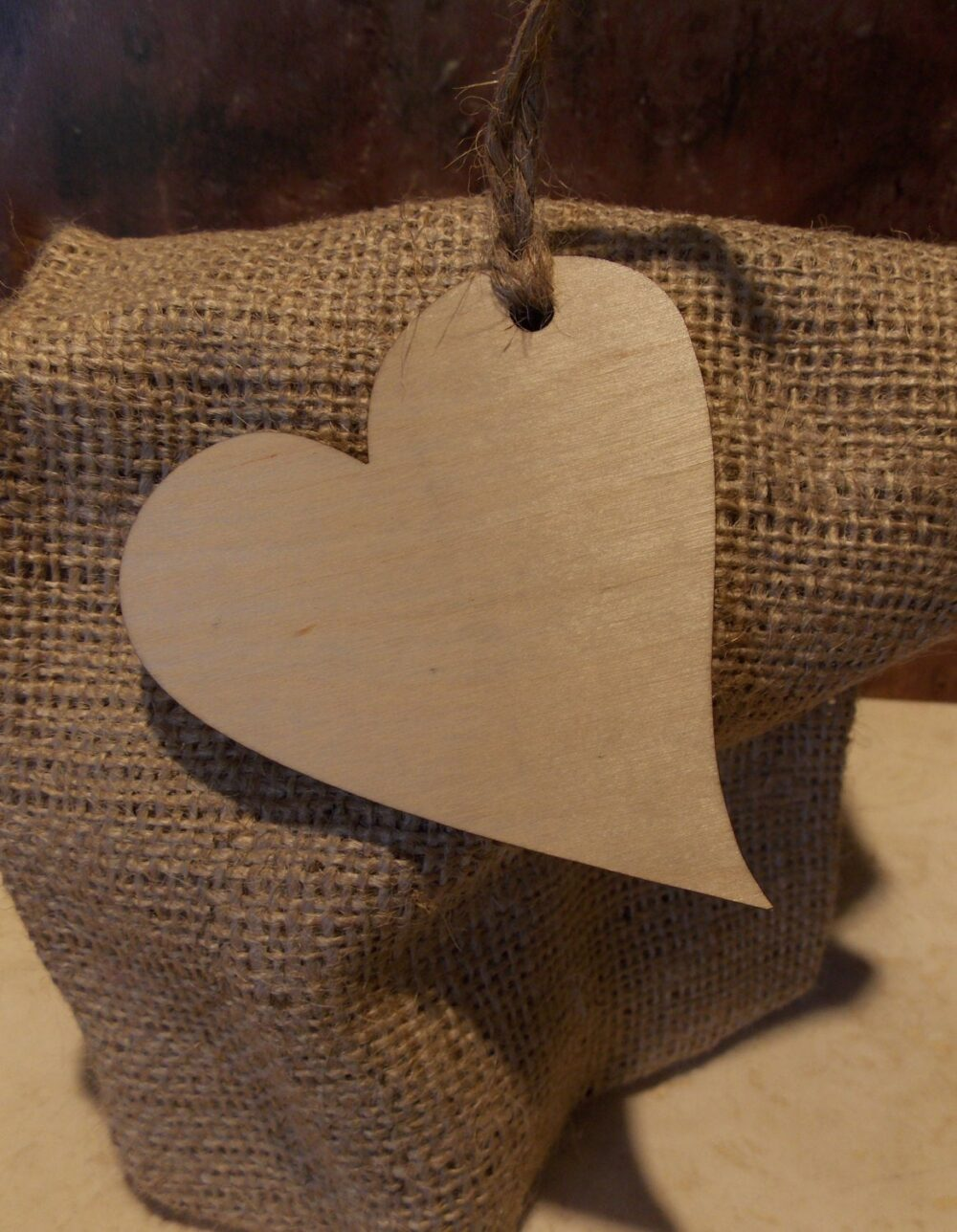 12 Wood Heart Decorations - Favor Tags Wedding Cards Alternative Guest Book Bridesmaid Favor Signing Piece Wish Tree Ornament