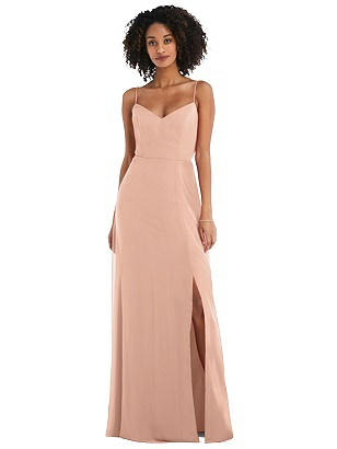 Special Order Tie-Back Cutout Maxi Dress with Front Slit