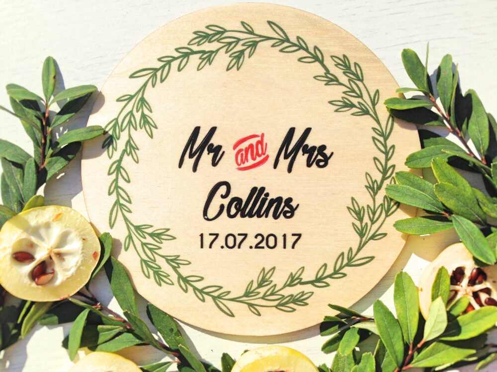 Wedding Photo Favor Save The Date Wood Coasters Gifts For Couple Personalized Gift Set Of Coasters
