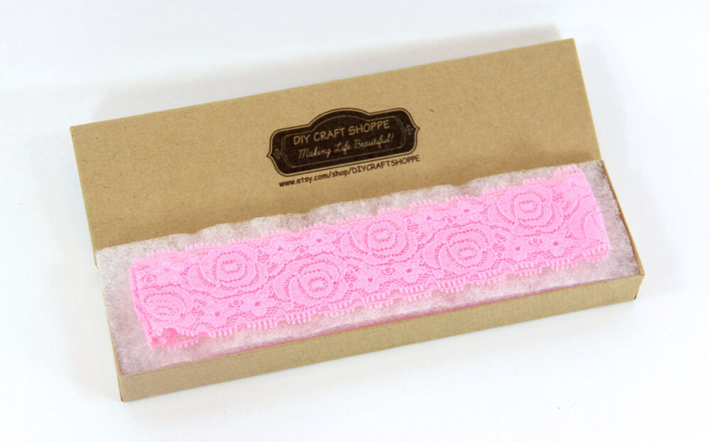 """Wedding Garter - 16 Colors Available. 1.5"""" Soft Stretch Lace Garter. Diy Headband Comes Plain. One Size Fits Most. Wholesale Garter"""