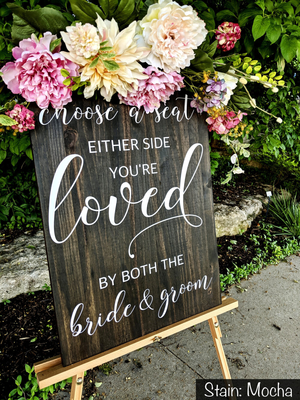 Wedding Seating Chart, Choose A Seat, Chart Sign, Find Your Rustic Wedding, Decor, Signage, Wood Sign