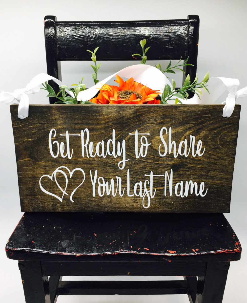 Ring Bearer Sign Wedding Rustic Signs Wood Decor Decorations Signage