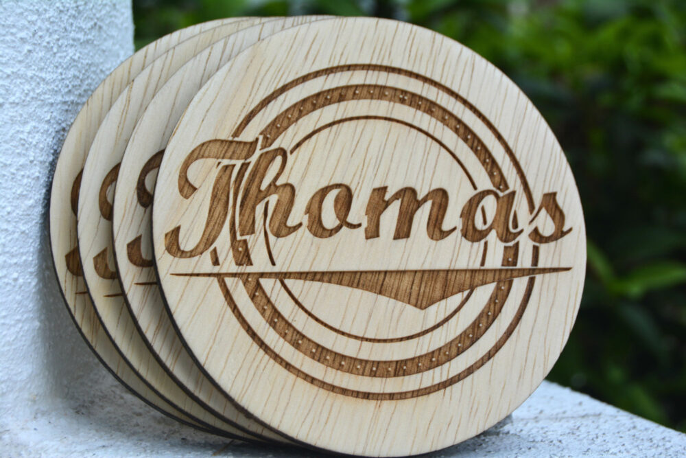 Personalized Coasters, Wedding Favors, Rustic Wedding, Monogrammed Groomsmen Gifts, Country Charm