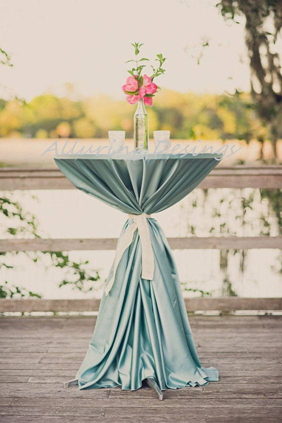 Satin Linens Tablecloth Runner Overlay Wedding Event Party Anniversary Shower Bridal Reception Decor Cake Sweetheart Table New Years