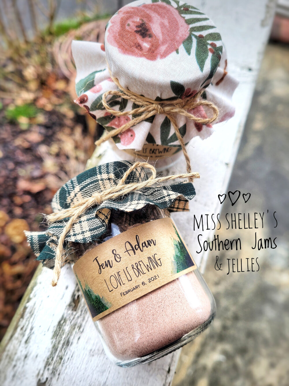 Hot Cocoa Wedding Favor 60 | 4Oz Rustic Personalized Chocolate Winter Favors Edible Holiday