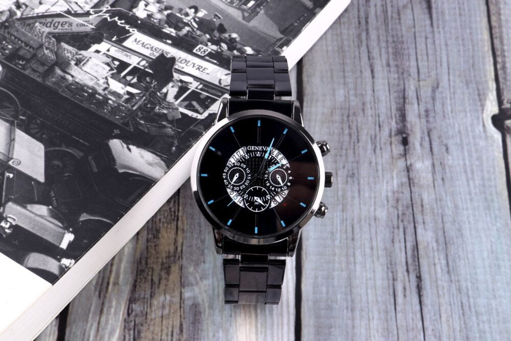 Christmas Gifts For Dad, Boyfriend Gift, Mens Watches, Engraved Watch Men, Customized Watch, Personalized Groom Gift