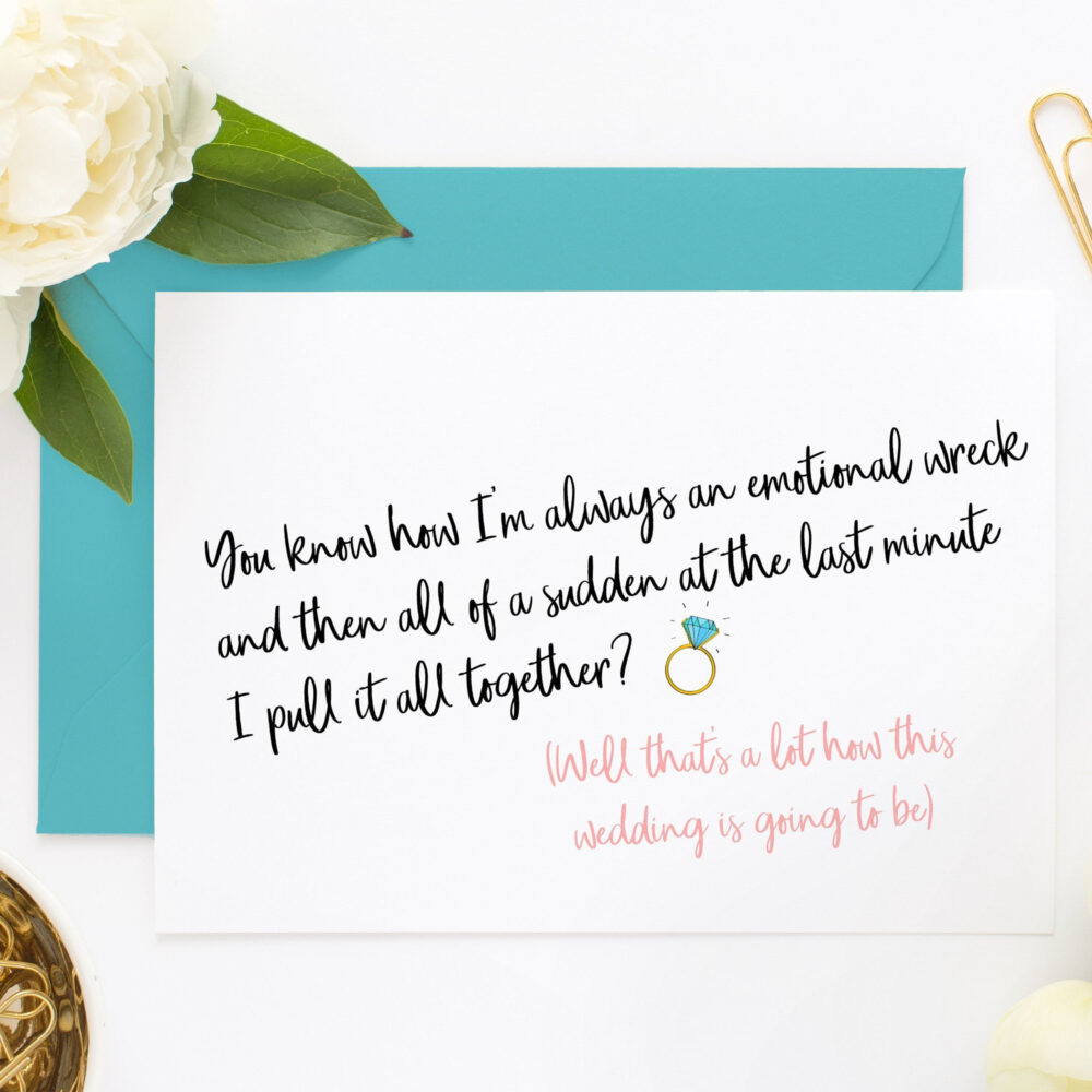Funny Bridesmaid Card, Maid Of Honor Cards, Proposal Cards For Box, Will You Be My