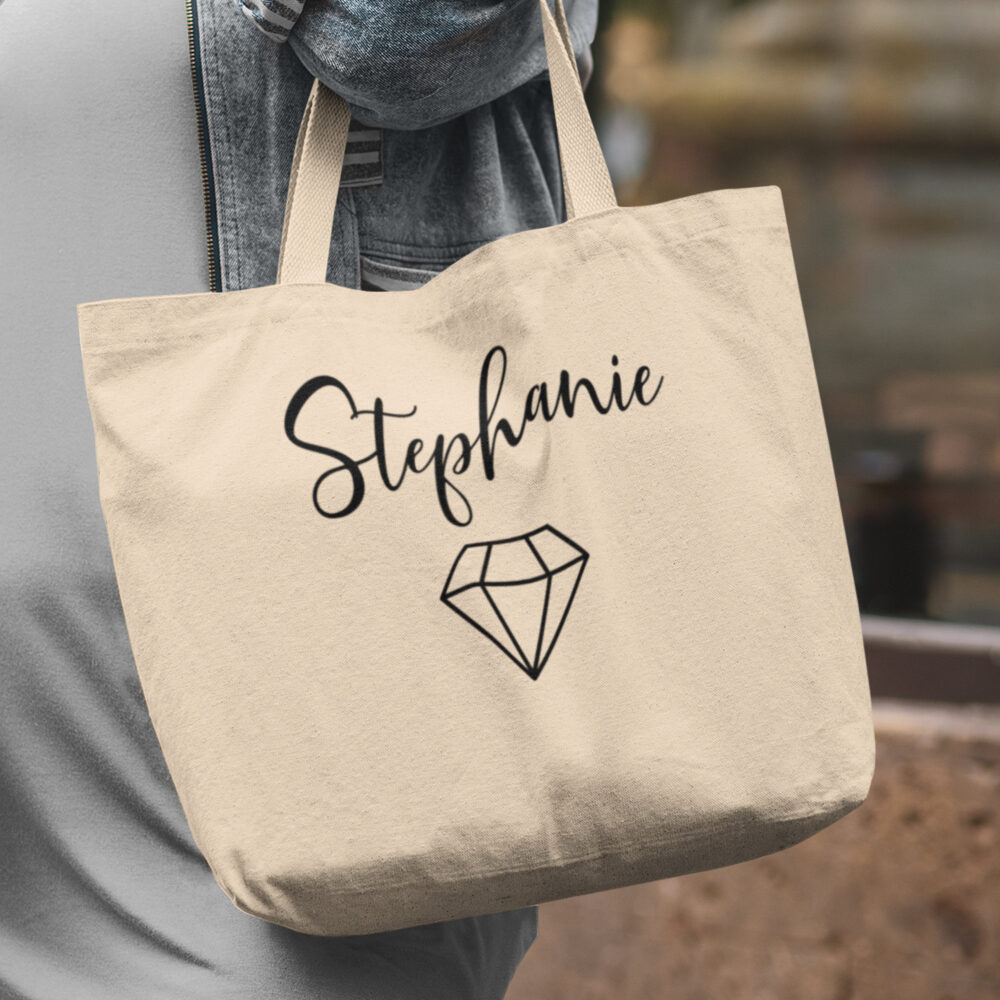 Custom Bridesmaid Gifts, Tote, Bridesmaids Gift, Bachelorette Bag, Personalized Tote