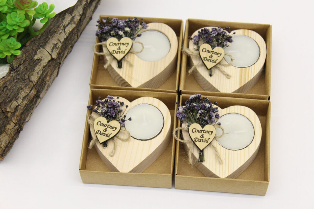 Candle Wedding Favor, Personalized Favors For Guests in Bulk, New Favors, Bridal Shower Rustic Funeral