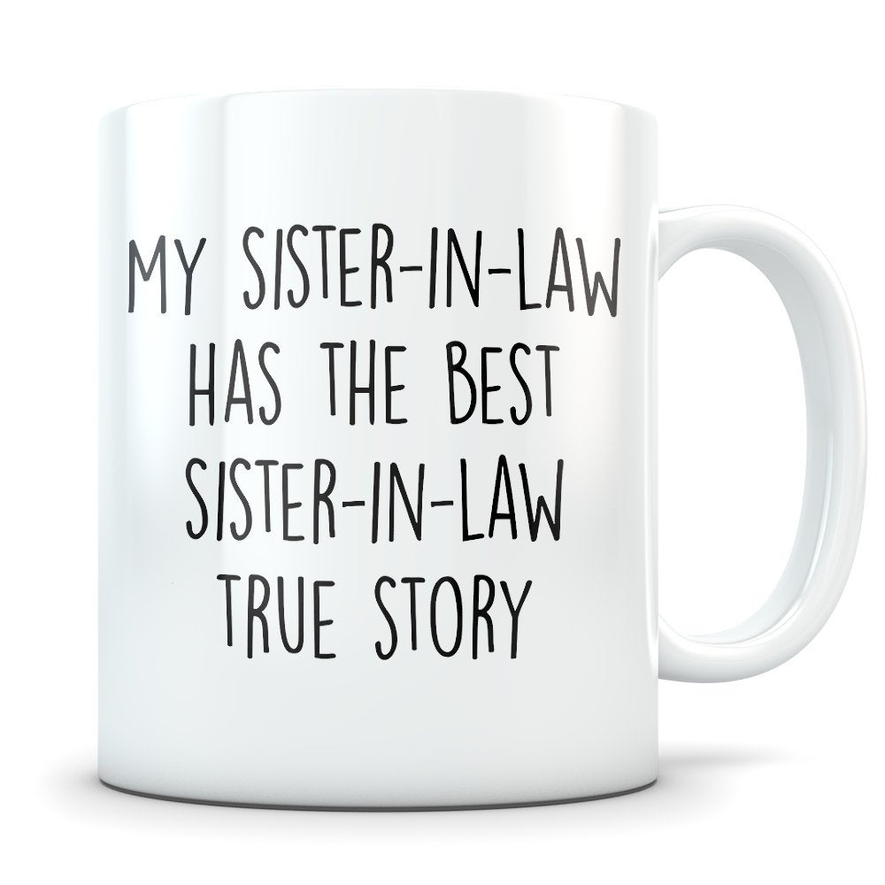 Sister-In-Law Gifts, Sister Of The Groom, Wedding Party Mug, Coffee Sister in Law Sister-In-Law