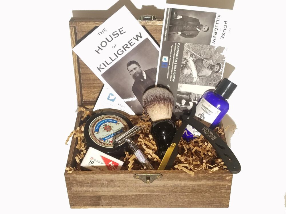 Set Of 6 - Shave Kits Barn Wedding Favors Groomsmen Gifts Ideas Best Man Gift For Rustic Ombre Wedding Favor Fall Summer-Wedding