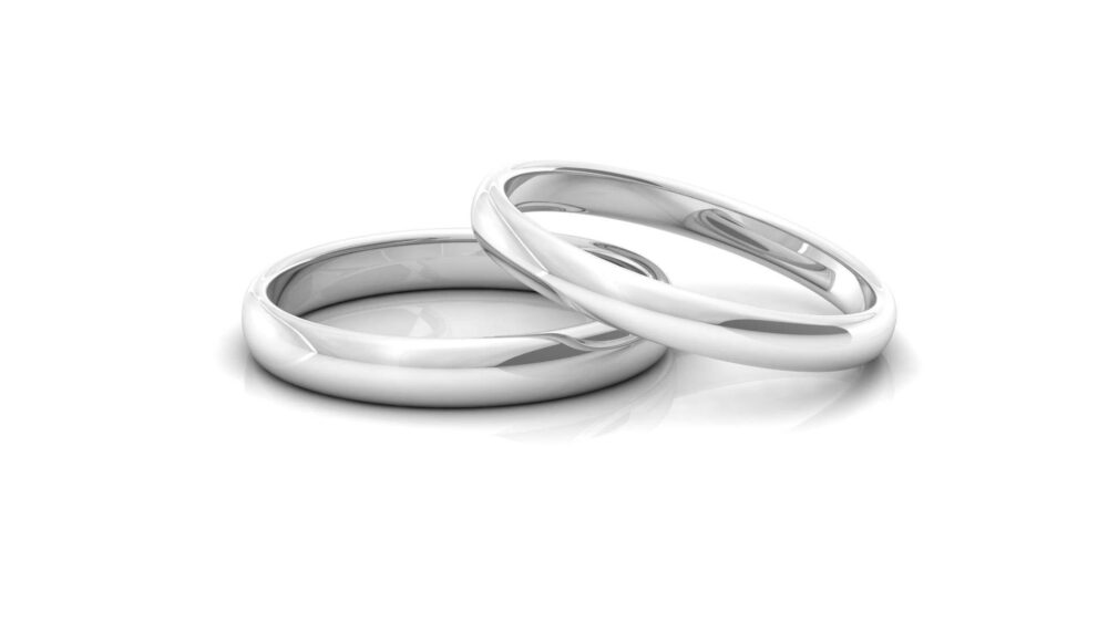 Wedding Band Ring - Sterling Silver Ring Hand Forged Mens Unisex Minimalist Jewish Jewelry