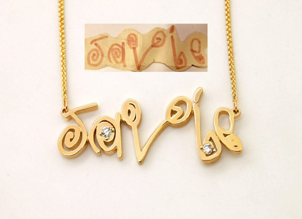 Your Childrens Drawing Jewelry, Personalized Mom Gift For Mothers Necklace, Mother, Jewelry Gift For Her Wife