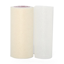 Ivory Sparkling Tulle Roll Colored - 6 X 25yd - Fabric - Width: 6 by Paper Mart