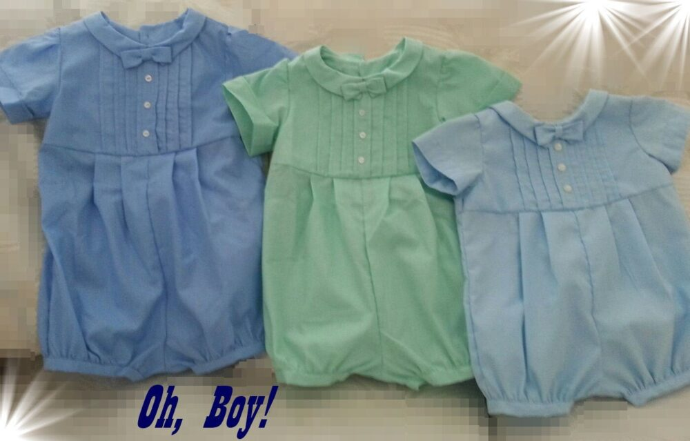 Baby Boy Christening Baptism Wedding Church Party Formal Easter Outfit Bubble Suit Shortall