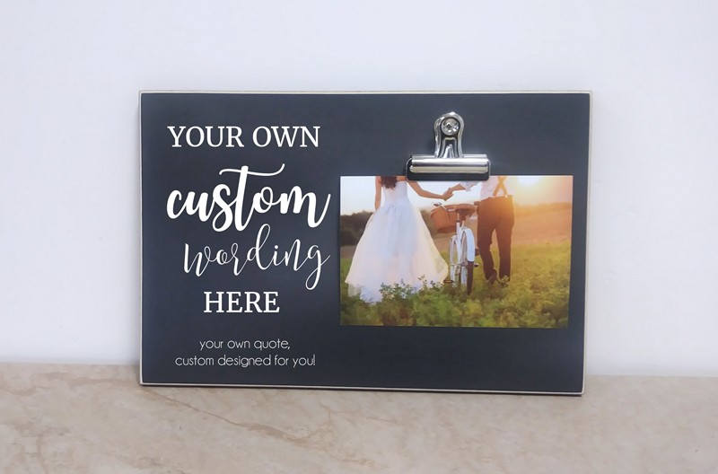 Wedding Decoration Idea, Photo Frame, Custom Design Picture Gift Anniversary Gift, Personalized Frame