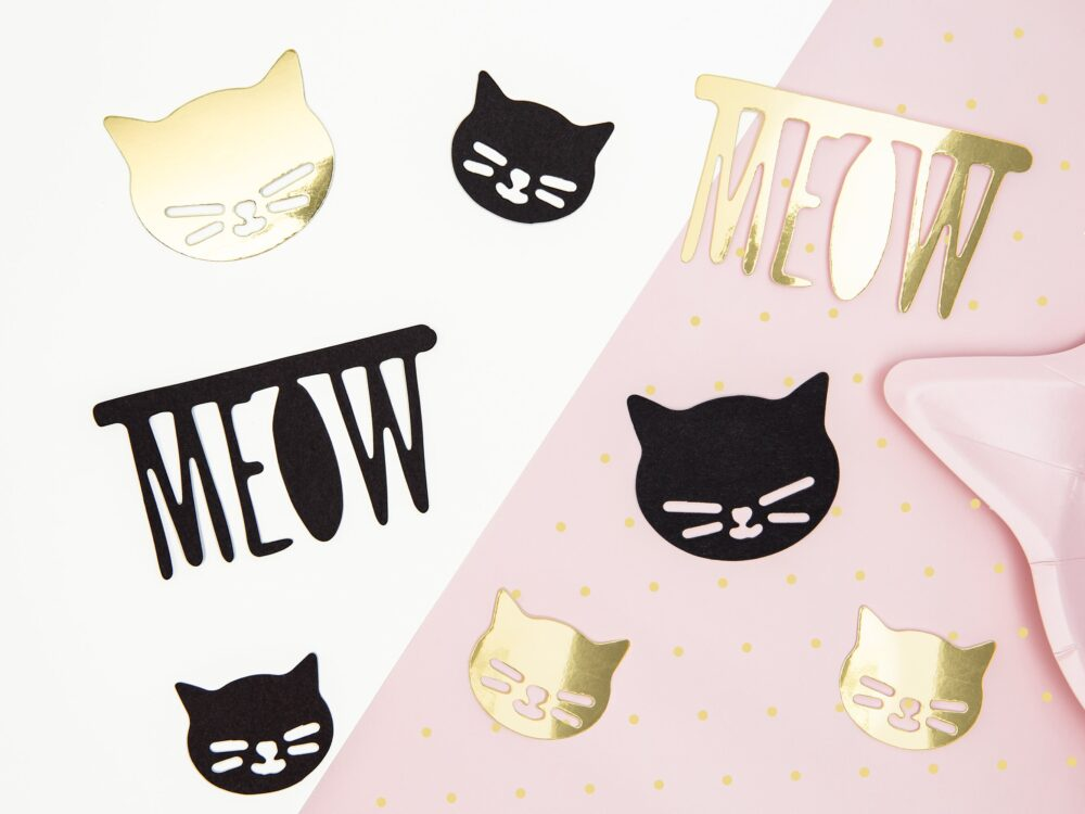 Kitty Cat Table Scatter Confetti   Birthday Party Pink Decorations