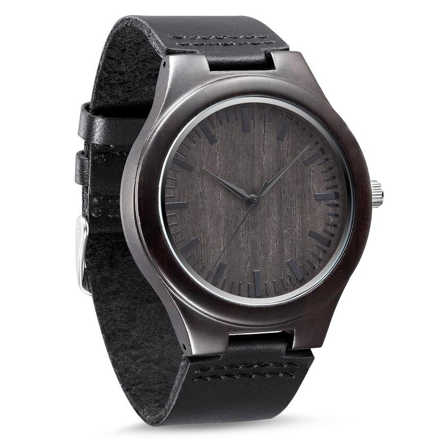 Wood Watch - Engraved Personalized Groom Gift Husband For Him Anniversary