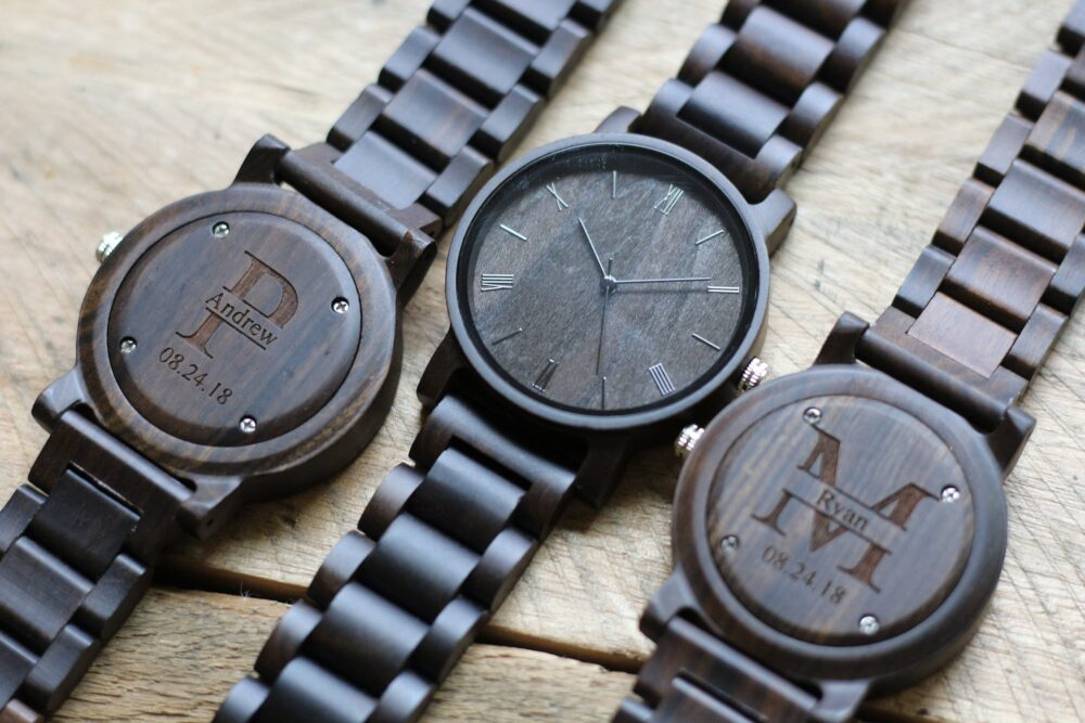 Groomsmen Watches, Set Of 8, Wood Watch, Wooden Mens Gift, Wrist Gift For Groom, Watches