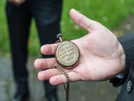 Pocket Watch, Personalized Antique Custom Engraved Pocket Groomsmen Gift, Mens Corporate, Fathers Day