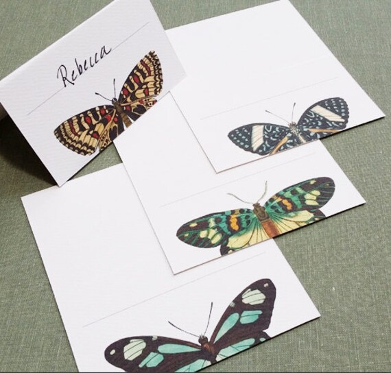 Butterfly Place Cards, Assorted