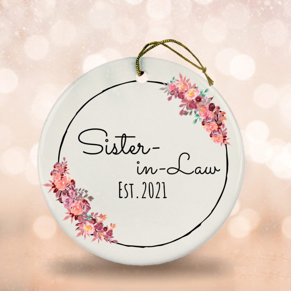 Sister-In-Law Keepsake, Sister Of The Bride Gifts, Groom First Time Sister-In-Law, Wedding Favor For Sisters-In-Law