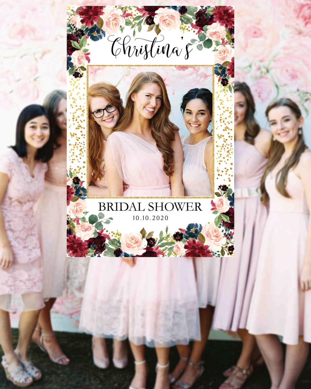 Bridal Shower Photo Prop | Wedding Photo Props Booth Frame Sign Welcome #bpr11