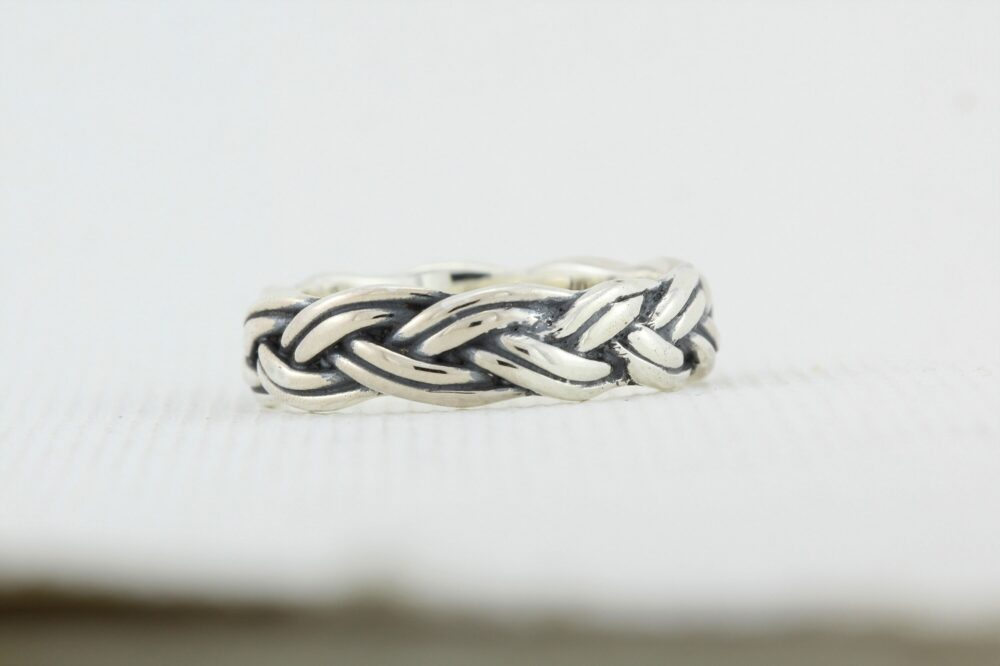 Unique Wedding Band, Band For Men, Sterling Silver, Silver Jewelry, Jewelry Unconventional