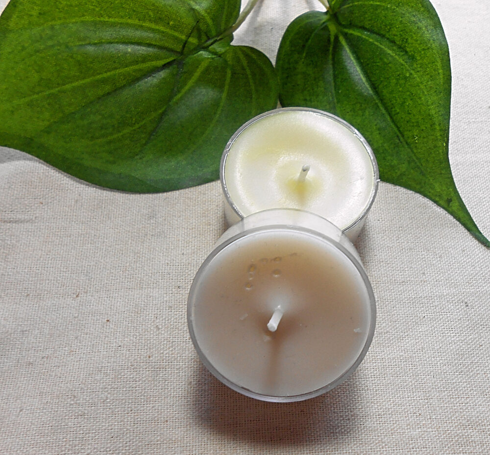 Natural Colored Tealight - Candle -Tea Lights -Aromatherapy -Witchcraft Supply -Witchy Decor -Meditation -Farmhouse
