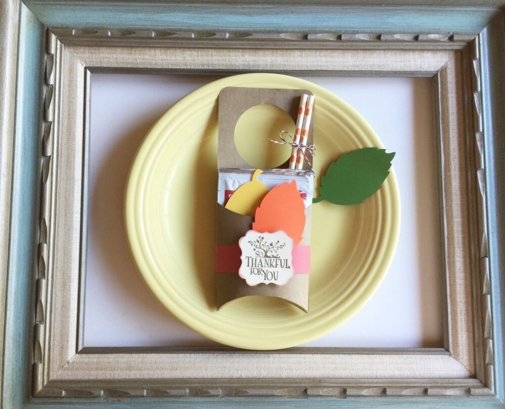 Thanksgiving Gathering Party Gift Favor Hot Cocoa Chocolate Pouch Birthday Hostess Colleague Wedding Appreciation Door Hanger Deer Hungting