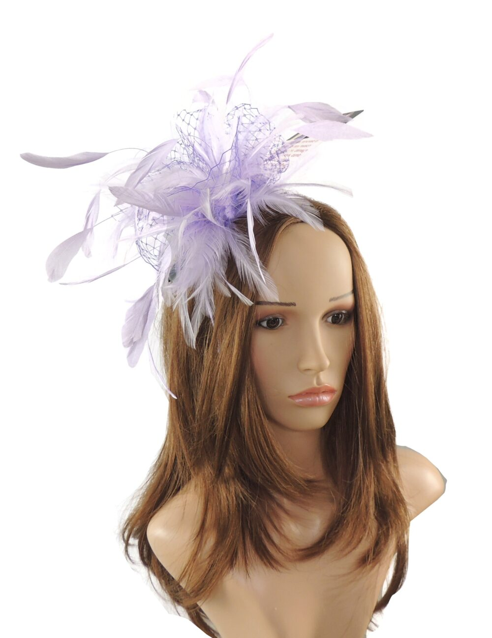 Lilac Cleo Kentucky Derby Wedding Fascinator Hat   In 20 Colours
