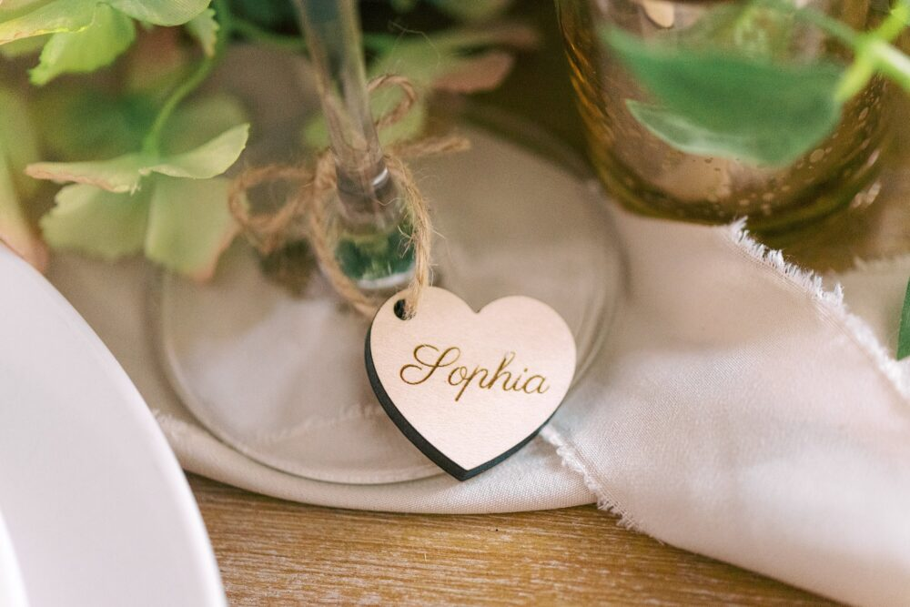 Wedding Wine Glass Custom Tag, Place Setting, Name Cards, Decor, Favors