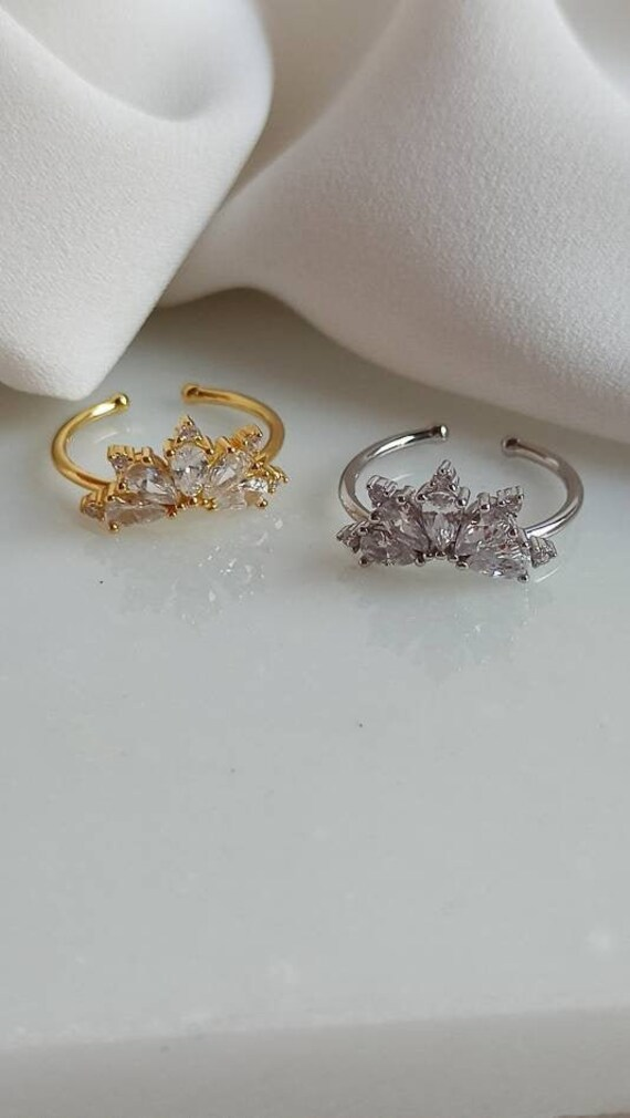 925 Cz Marquise Ring