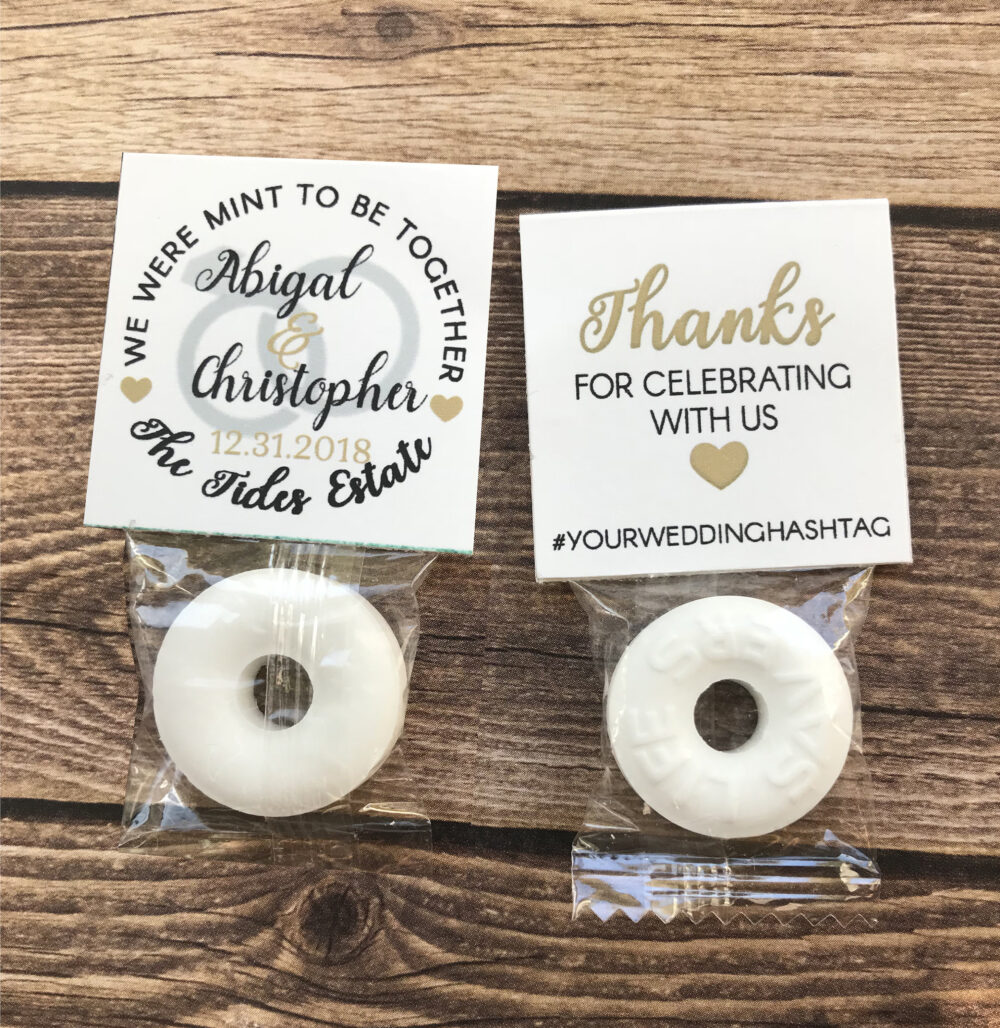 Wedding Favors. Personalized Mint To Be Tags. Favors For Guests. Thank You. Diy Favor Ideas. Set Of 24