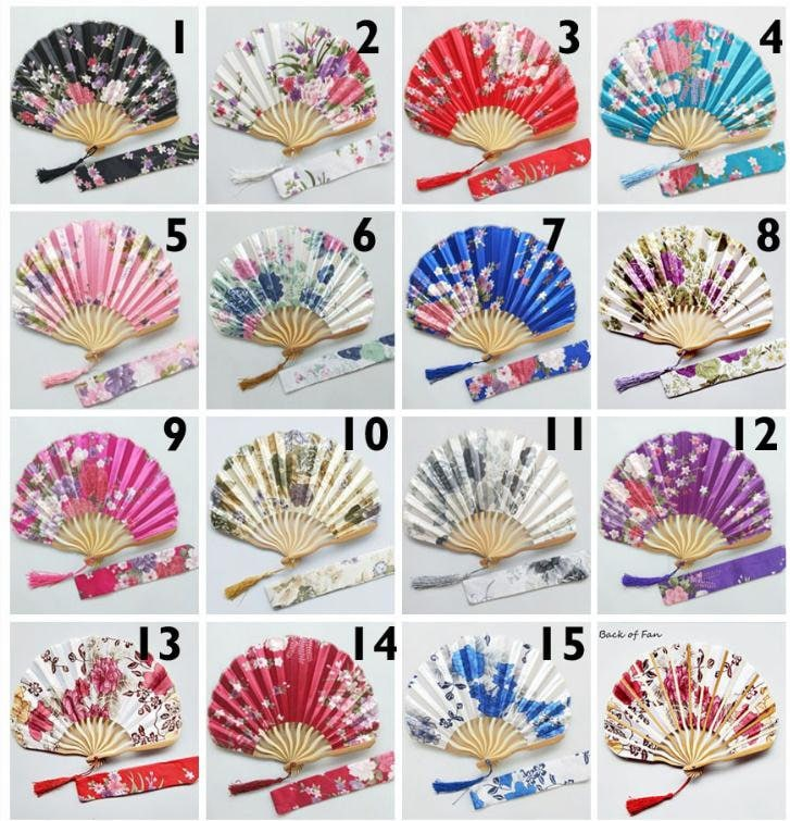 Personalized Flower Hand Fan For Wedding, Custom Engraved, Hand Wedding Favor, Gift Bridal Shower, Each Comes With Gift Bag