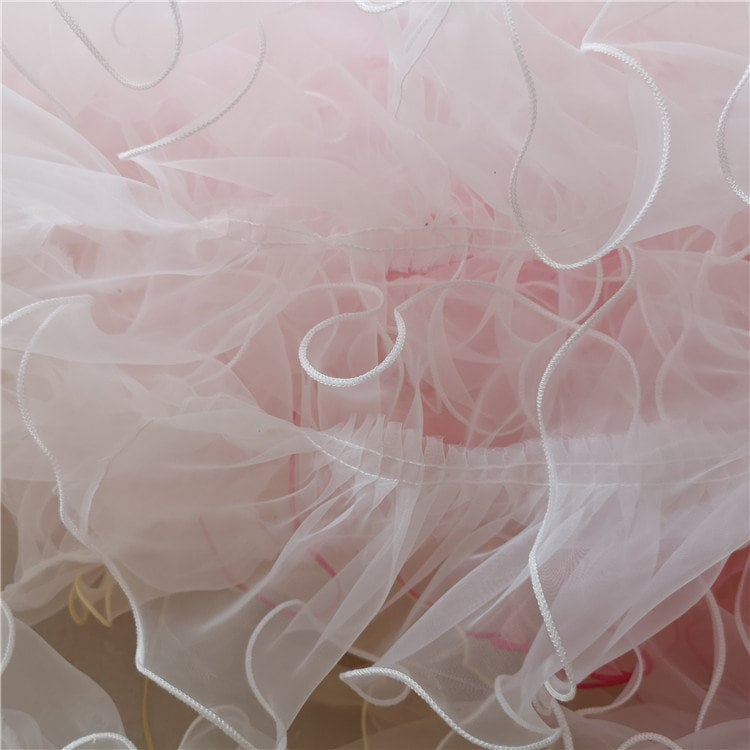 """4.3"""" Organza Lace Trim For Sewing & Craft, Home Decoration Fabric, Lace Applique, Diy Materials"""