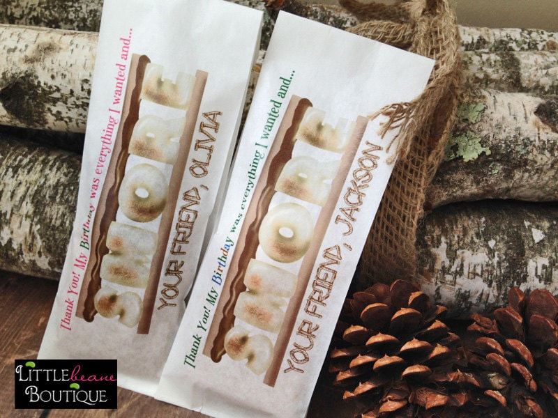 Smore Favors, Favor Bags, Camping Birthday Party, Smores Tall Sweets, Treat Bags